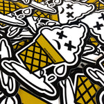 DEADLY. ICE SCREAM Sticker