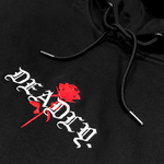 DEADLY. Rose Oversized Pullover Hoodie