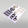 DEADLY RC Sticker Kit 1 RC Drift