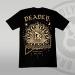 DEADLY. Worldwide Order T-shirt with large back print