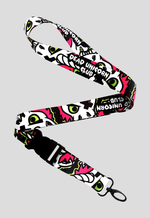 The Dead Unicorn Club lanyard