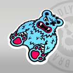 DEADLY. BEAR Sticker 10cm