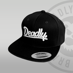 Deadly Black Snapback