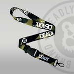Deadly Brand Clothing Deadly Camo Camouflage Lanyard green