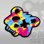 Dead Bear Society Paint Sticker