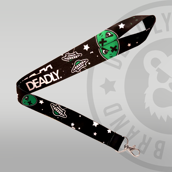 Deadly Alien Lanyard Spaceship galaxy