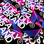 DEADLY BRAND® Fade Sticker