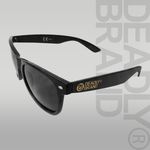DEADLY BRAND® Black Sunglasses