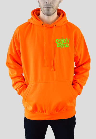 DEADLY BRAND® TRASHY  Vibrant Orange
