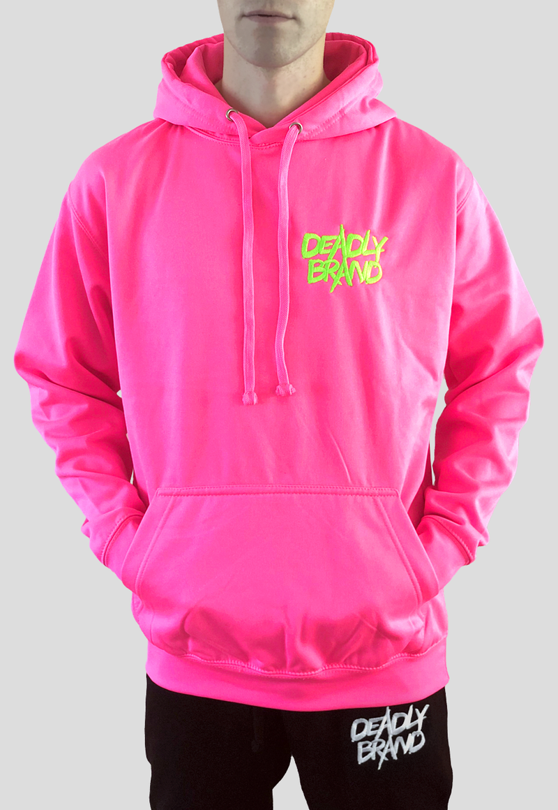 DEADLY BRAND® TRASHY  Vibrant Pink