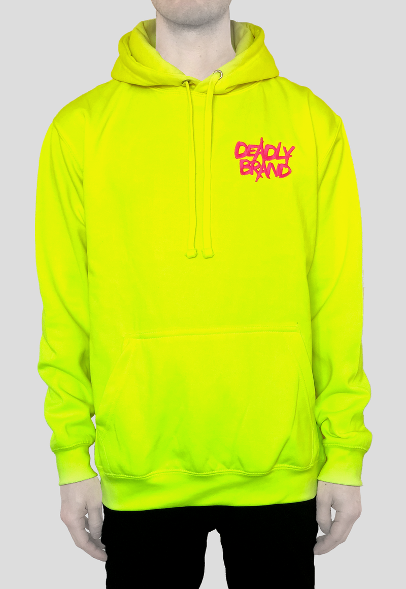 DEADLY BRAND® TRASHY  Vibrant Yellow