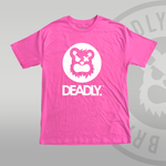 Deadly Pink T-shirt - XL ONLY