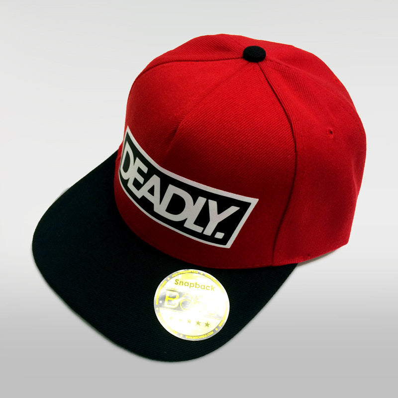 Deadly Snapback Red