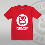 Deadly Red T-shirt - S ONLY