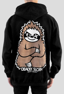 DEADLY. SLOTH Pullover Hoodie back print