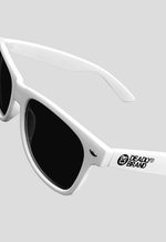 DEADLY BRAND® White Sunglasses