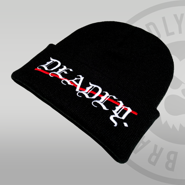 Deadly Cuffed Traditional Beanie