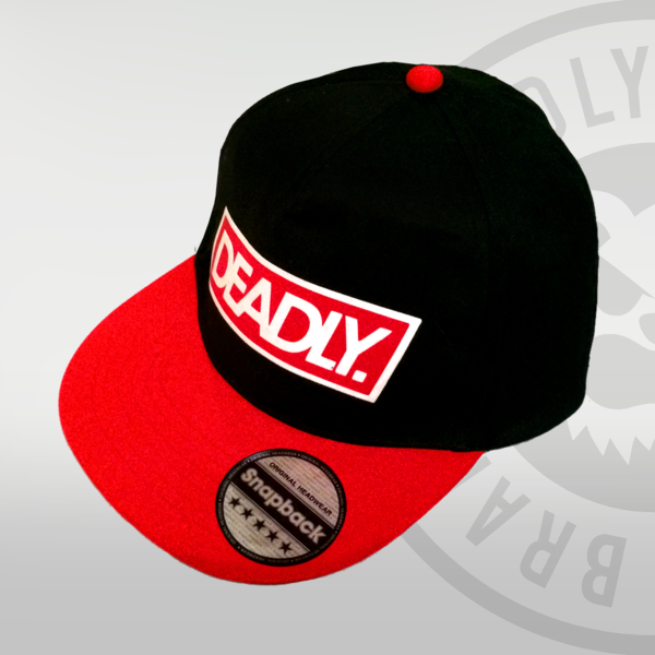 Youth Deadly red Black Snapback deadly brand