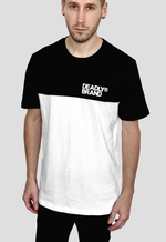 DEADLY BRAND® Block Black & White T-shirt