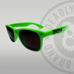 Deadly Lime green Sunglasses