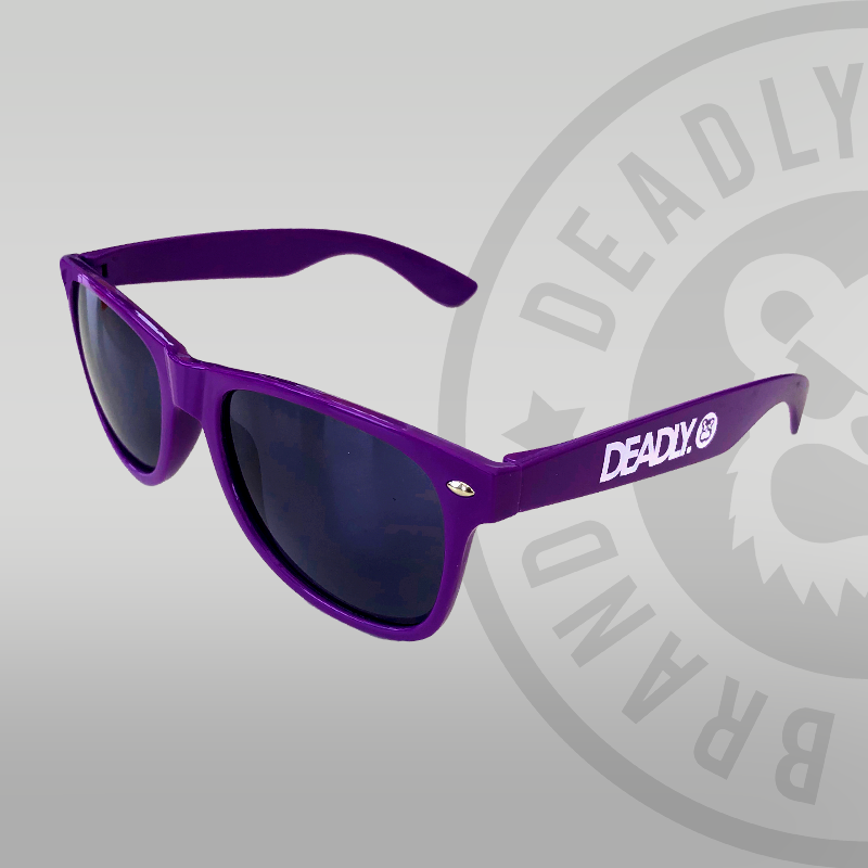 Deadly Sunglasses Purple