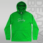 Deadly. Signature Hoodie Green - XXL and XXXL ONLY