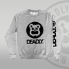 DEADLY™ Sweat Top Heather Grey