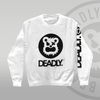 DEADLY™ Sweat Top White with arm print