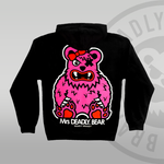 Mrs DEADLY. BEAR Pullover Hoodie Back print