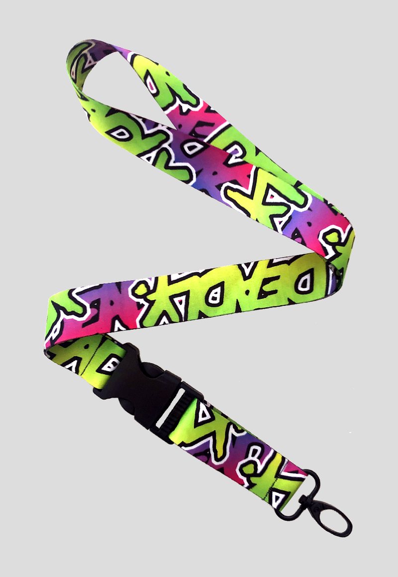 DEADLY BRAND® TRASHY  Lanyard