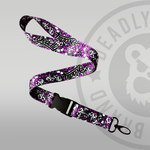Deadly Unicorn Lanyard