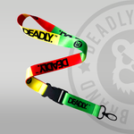 Deadly Chilled Vibes Lanyard