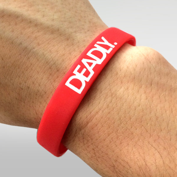 Deadly Wristband Red