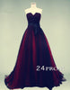 Black Tulle Long Prom Dresses, Evening Dresses