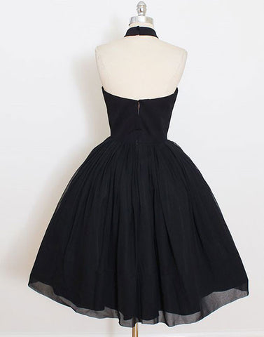 Cute Short Black Prom Dress