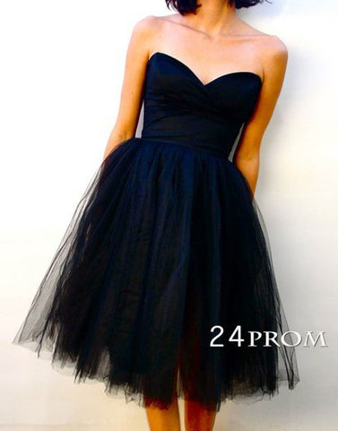 Sweetheart A-line Short Prom Dress,Homecoming Dress