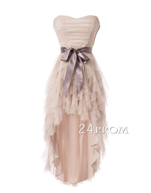 Sweetheart Tulle Short Prom Dresses,Homecoming Dresses