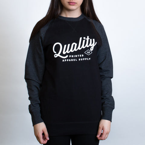 AS Colour Contrast Crewneck - The Print Room NZ - Leavers Gear