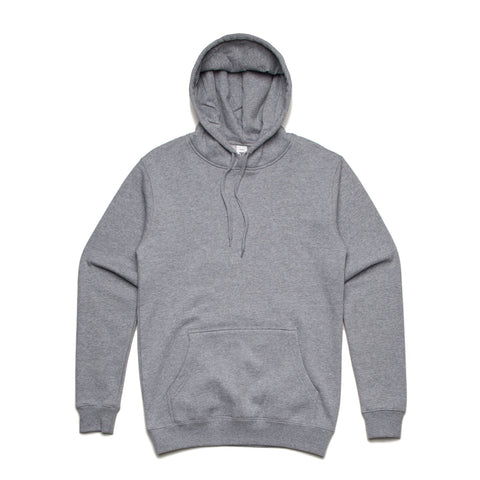 Leavers Gear - AS Colour Stencil Hoodie Grey Marle - The Print Room
