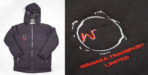 Custom embroidery on jackets nz