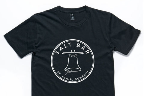 Salt Bar Dunedin T-shirt screenprint The Print Room New Zealand