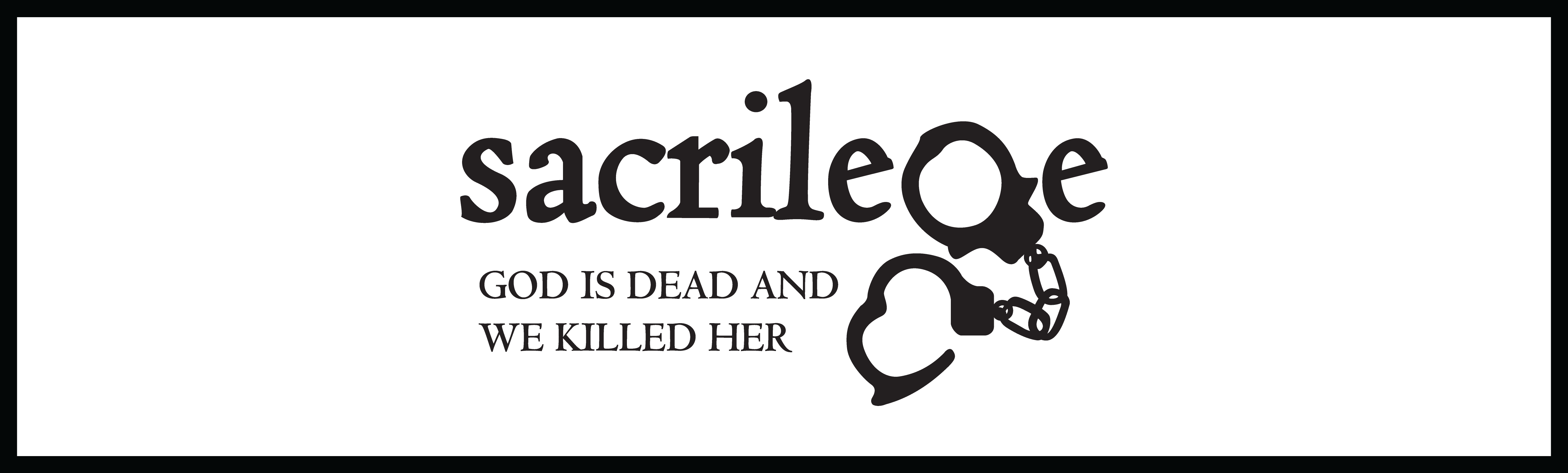 Sacrilege Productions - Preordering Online store NZ
