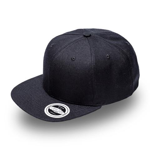 Cap - Uflex Flat Peak Unisex Six Panel Cap - Leavers Gear NZ