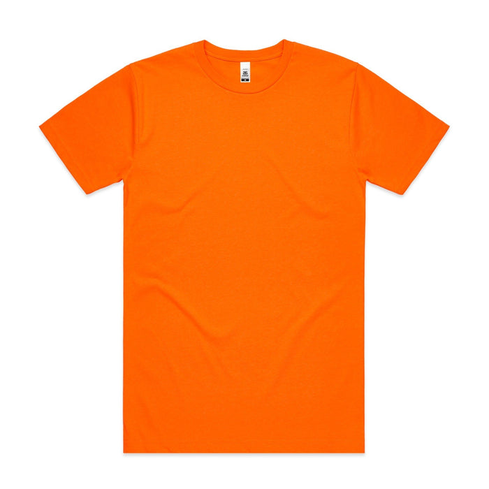 Crew Neck - Mens Block Tee (Safety Colours) - 5050F