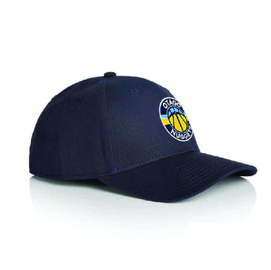Hat - Otago Nuggets - Curved Peak Cap