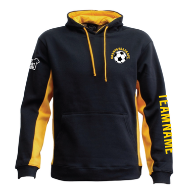 Hoodies, Sweatshirts - Grants Braes - Matchpace Hoodie (Adults) With Team Name