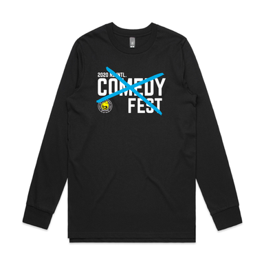 NZ International Comedy Festival - Cross Long Sleeve T-shirt