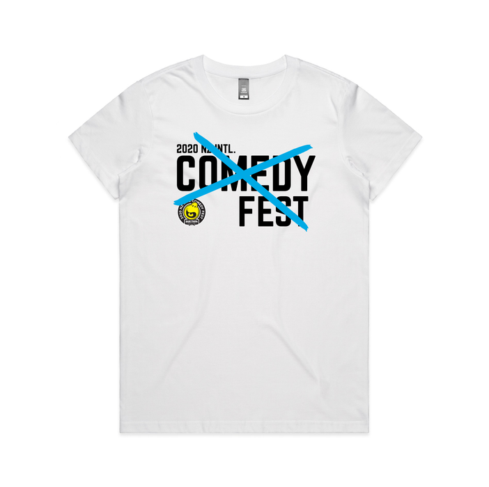 NZ International Comedy Festival - Cross Short Sleeve T-shirt