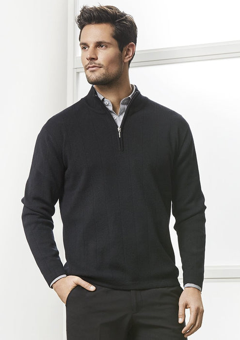 Pullover - BizCollection WP10310 Mens 80/20 Wool-Rich Pullover