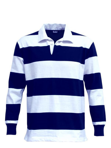 Rugby Jerseys - Aurora RJS Striped Rugby Jersey